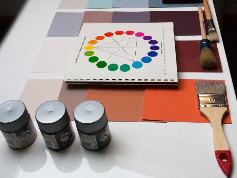 Perfekte Farbauswahl von Ihrem Maler mit Fachkenntnis